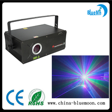 Full color 1W high speed animation RGB beam laser light with wide scan angle
