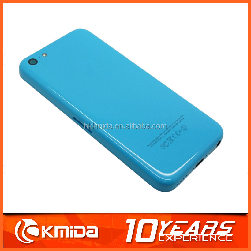 Wholesale back cover housing for iphone 5c back cover housing replacement