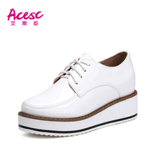Fashion Woman Lace-Up Fashion Casual Shoe