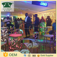 wonderful flashing led light party bar tables wholesale cocktail tables