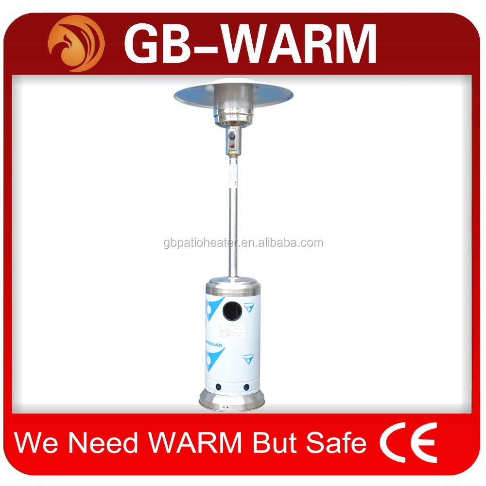 factory price tall outdoor garden Natural LPG Gas Propane flame infrared patio heater