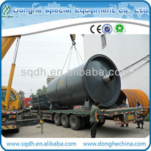 WJ-6 batch type waste plastic recycling pyrolysis to oil device