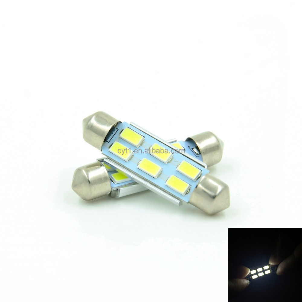 39mm 3W 5730 White Car Roof Reading Lights