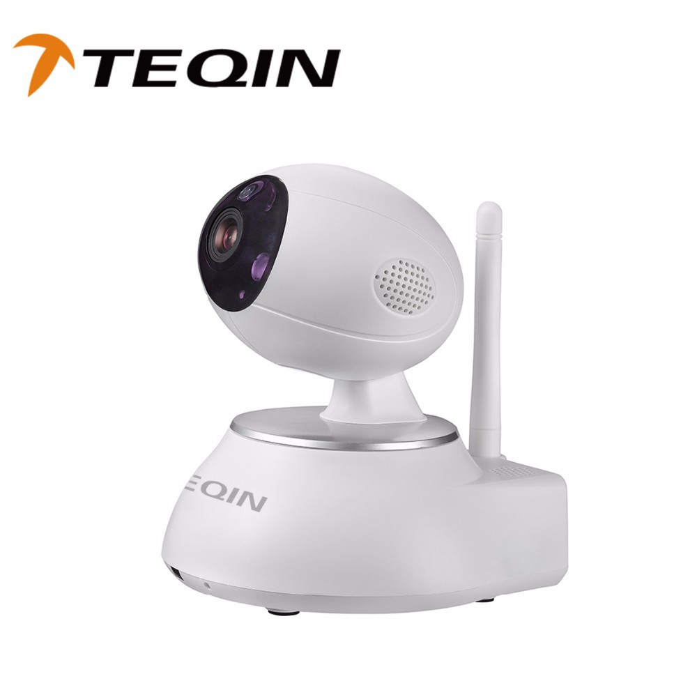 2016 TEQIN wireless network Intelligent Network Pan Tilt ip super zoom camera alarm input camera from shenzhen