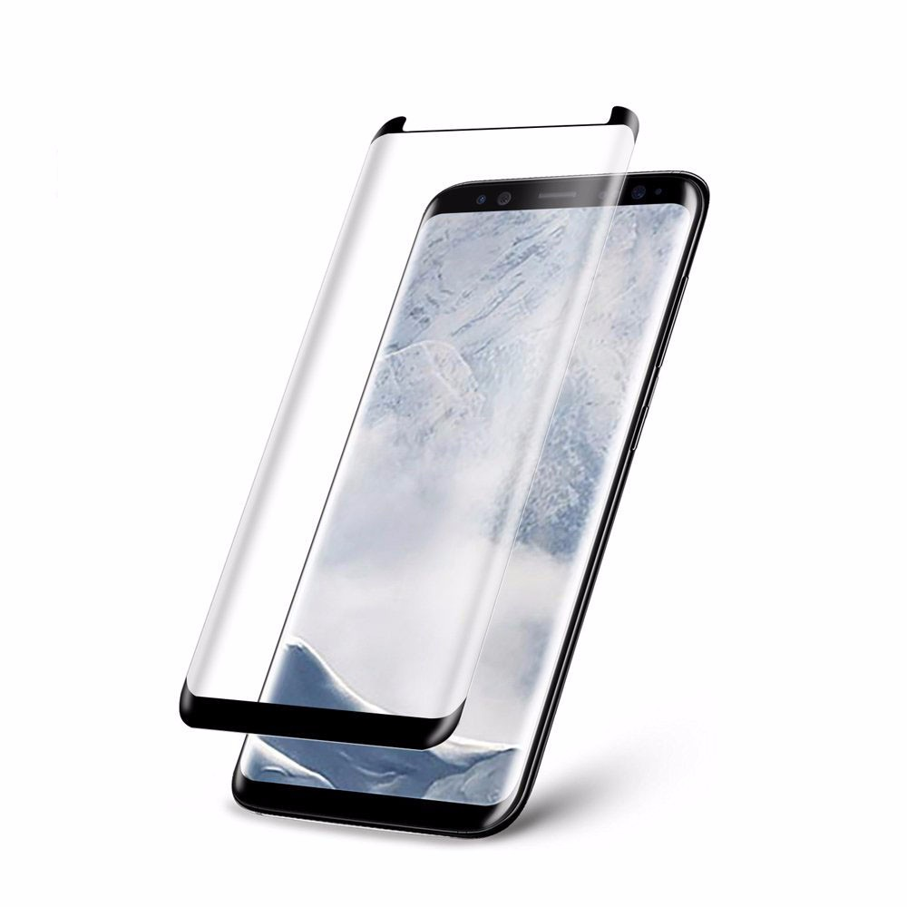 Case Friendly note 8 full cover 3d curved tempered glass screen protector