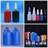 black empty 10ml / 50ml / 250ml / 1Ltr / 2Ltr anaerobic adhesive bottle threadlocker glue bottle packaging ldpe