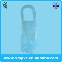 Soft plastic ice bag for wine with heat sealed handle XYL-D-I012