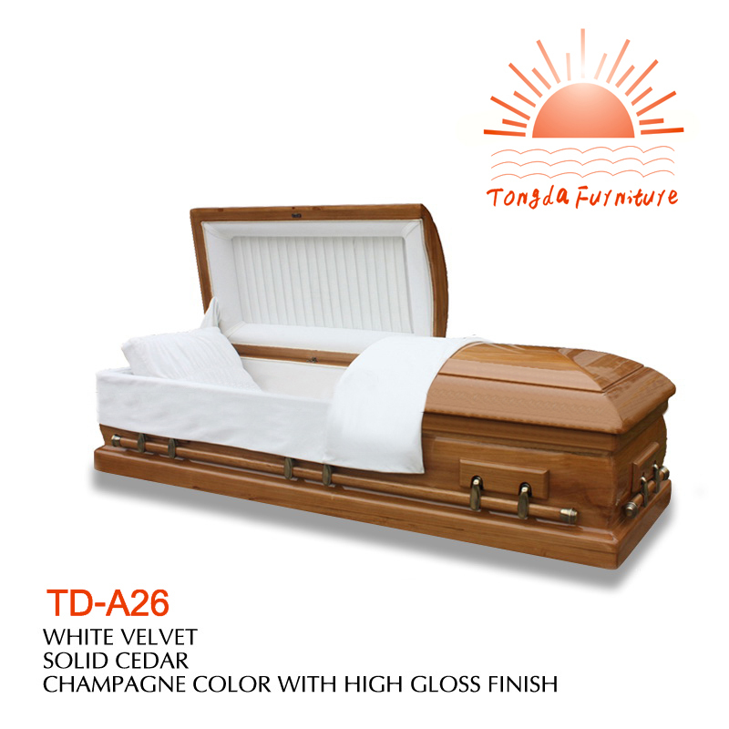TD-A26 American style casket bed and casket head