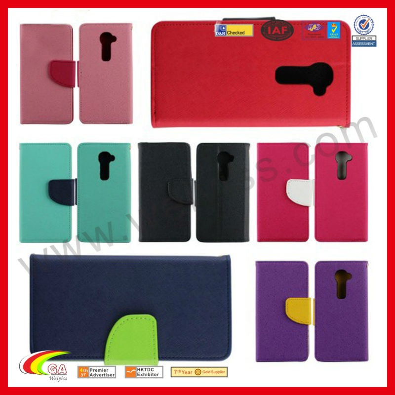 For lg g2,slim wallet flip cell phone case cover for LG G2,wallet case for lg g2