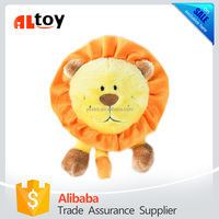Brainey Animal Squeaky Plush Dog Toy
