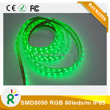 China wholesale 12v 300led multi color rgb 5050 led light with 2.4g rf remote controller