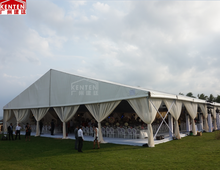2018 KENTEN 1000 people aluminum tents for wedding party events