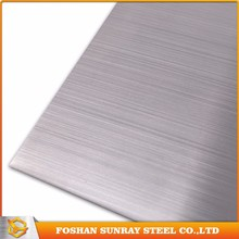 Aisi Standard Manufacturer Hairline Finish 316L Stainless Steel Sheet Price Per Kg From Manufacturer
