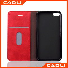 Flip leather customize protective phone caver case with card holder for iPhone 6