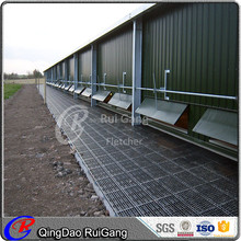 fabricated light steel structure chicken poultry house