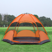 4 to 5 Person Camping Dome Tent for Outdoor Family Camping Traveling Hiking Easy to Set Up and Waterproof(HT6022)