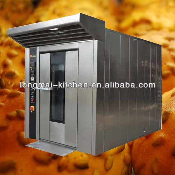 2016 hot selling LM - 16RG / 16 trays gas rotary bread oven machine