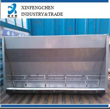 double-side stainless steel trough