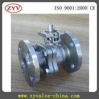 Flanged 316 Ball Valve With Electric Actuator