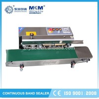 Popular continuous pouch sealing machine made in china DBF-770W