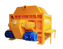 6000L Twin Shaft Electric Concrete Mixer