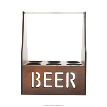 Wooden Beer Caddy / Holder / Tote / Basket / Carrier / Crate