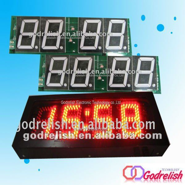 Brand new digital alarm countdown clock led alarm clock with low price