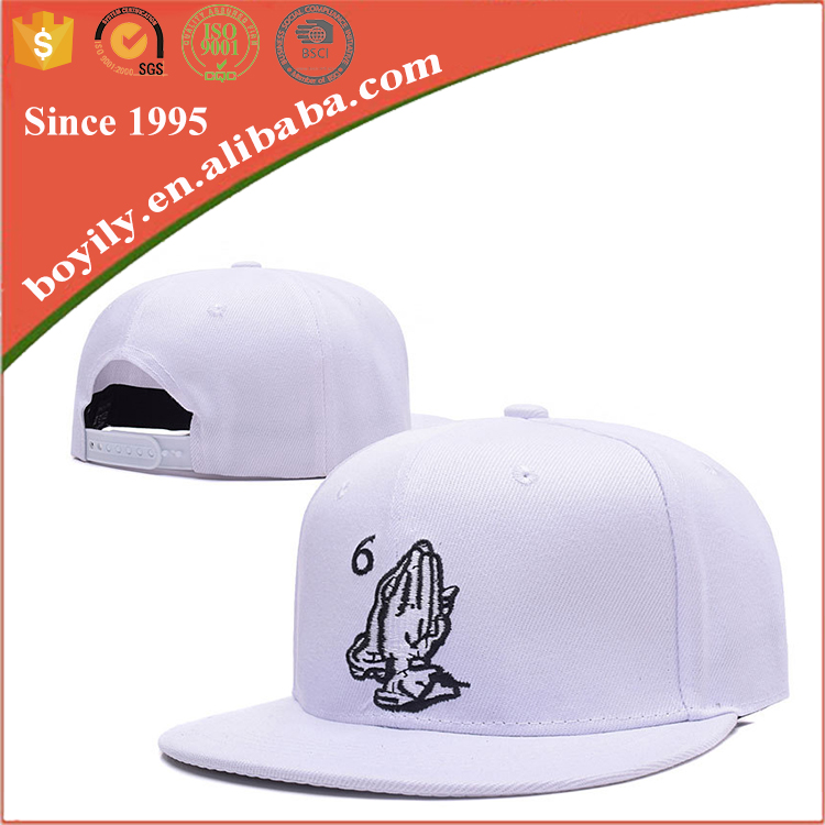Promotion Custom Wholesale Spandex Cotton Embroidery Cap, Fitted Blank Baseball Snapback Cap Hat