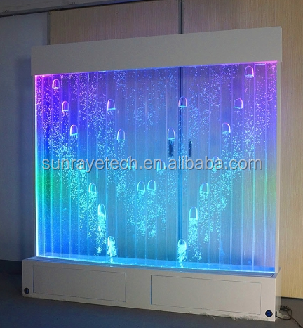H6.5*W6.5ft Digital LED bubble feature divider wall for home office hotel KTV Bar garden club