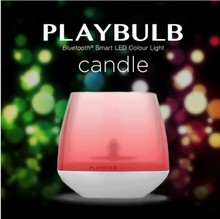 Mipow Wireless Bluetooth RGB Colors Playbulb Candle Holiday Small LED Candle Light