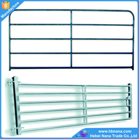 hot dipped galvanized cattle farm fence / used corral panels / farm gate