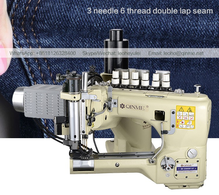 Industrial Sewing Machine 3 Needle 6 Thread