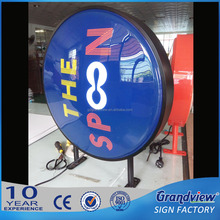 advertising outdoor double sided light billboard