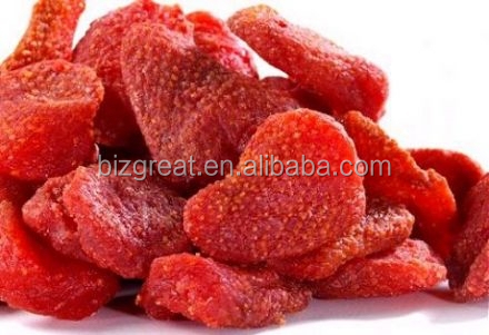 Chinese Dried Fruit Wholesale ---Sweet Dried Strawberry