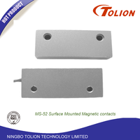 Surface Mounted Magnetic contacts over head door Heavy duty Normal open normal close Door Magnetic contact