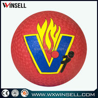 promotional full size rubber kick ball