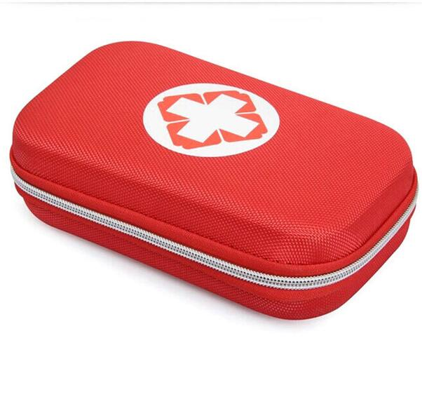 18 pcs Emergency care portable durable quality eva waterproof first aid kit bag