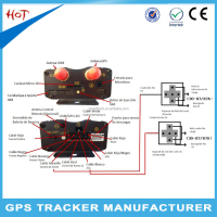 Cheapest gps tracking device obd gps gprs gsm car tracker OEM gps tk103b tracker