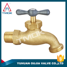 pvc/pp faucet/valve TMOK DN 20 mini with blasting plating CW617n nickel-plated new bonnet high pressure male connection