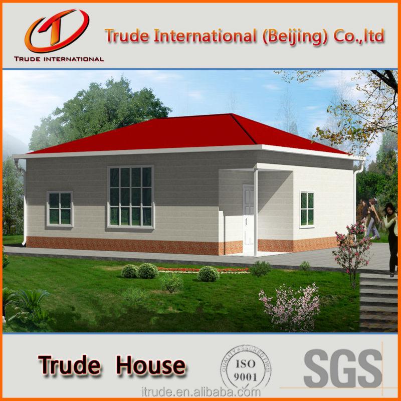 Eps cemento panel s ndwich de casas prefabricadas casas - Casas panel sandwich ...