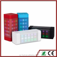 2016 New Products For Christmas Functional Wireless Bluetooth Speaker With LED Light
