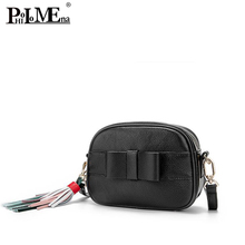 Guangzhou factory wholesale women leather bag hot sale famous brand bag genuine leather ladies body cross bag