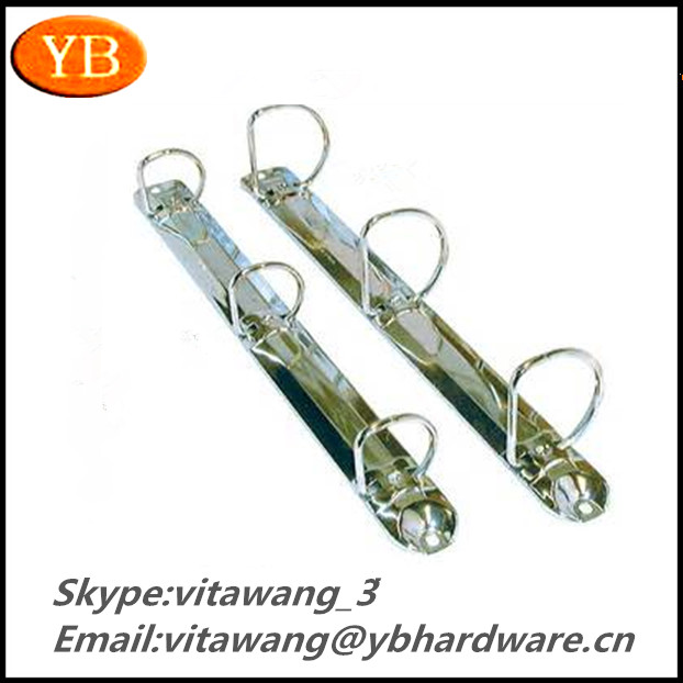High Quality Metal D Ring Binder Clips , ISO9001 2008/RoHS