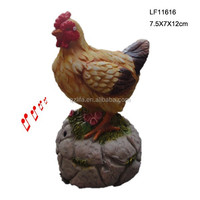 Standing polyresin crafts big animal cock