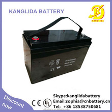 12v100ah deep cycle rechargeable battery flexible solar panel