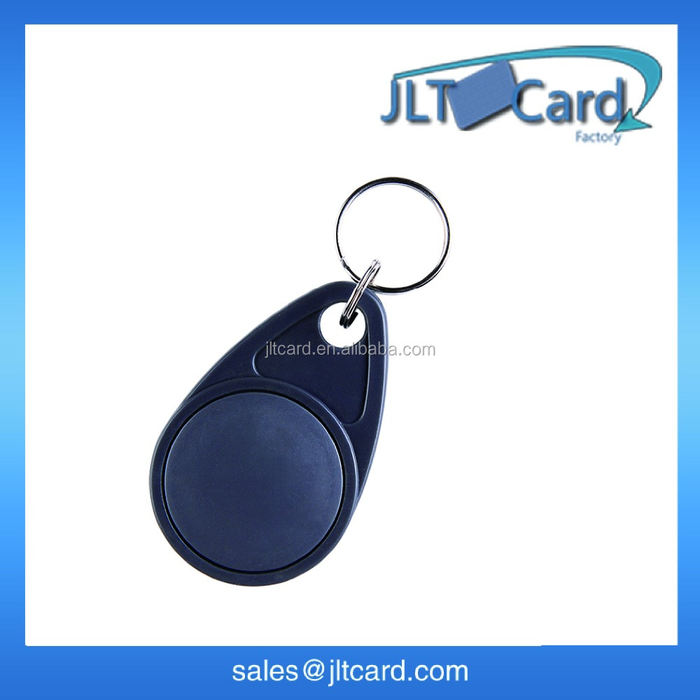 ABS hard plastic waterproof key fob 125KHZ with ID printed