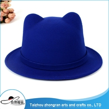 High Quality Cheap Custom Winter Funny Hats Lovely Wool Felt Hat For Kids