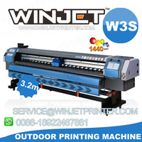 best quality printing machine ! konica high resolution fast speed flexo vinyl and banner printers