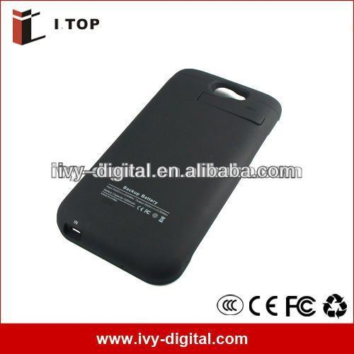 lithium akku Power case for Samsung Galaxy Note II N7100 battery 3200mAh