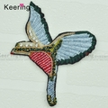 3D beaded iron on Birds embroidery patch for clothes